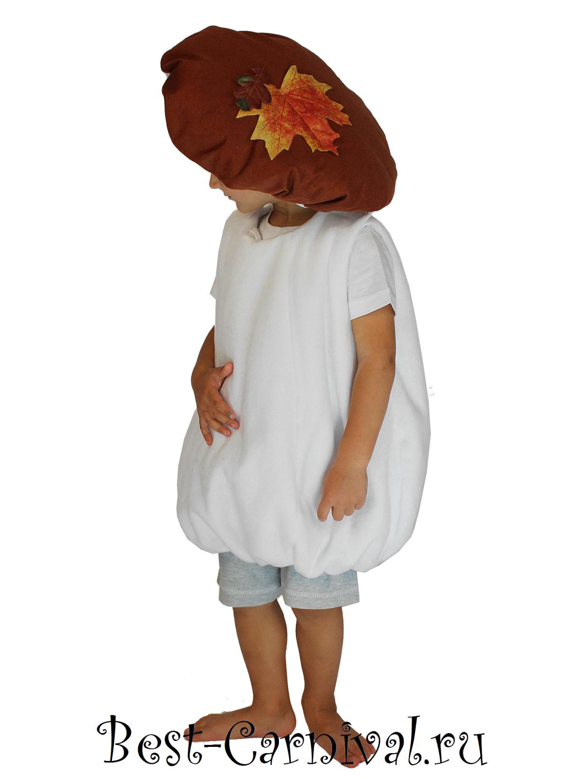 Как сшить костюмы грибов