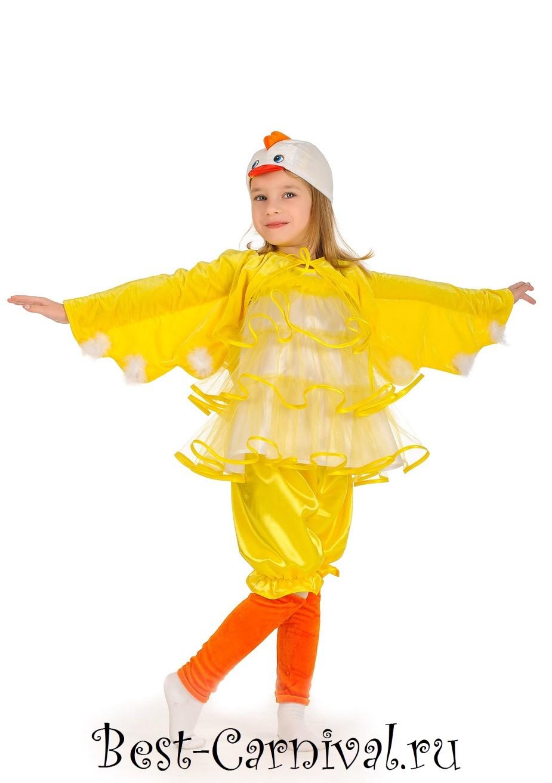 Как сшить своими руками костюм цыпленка