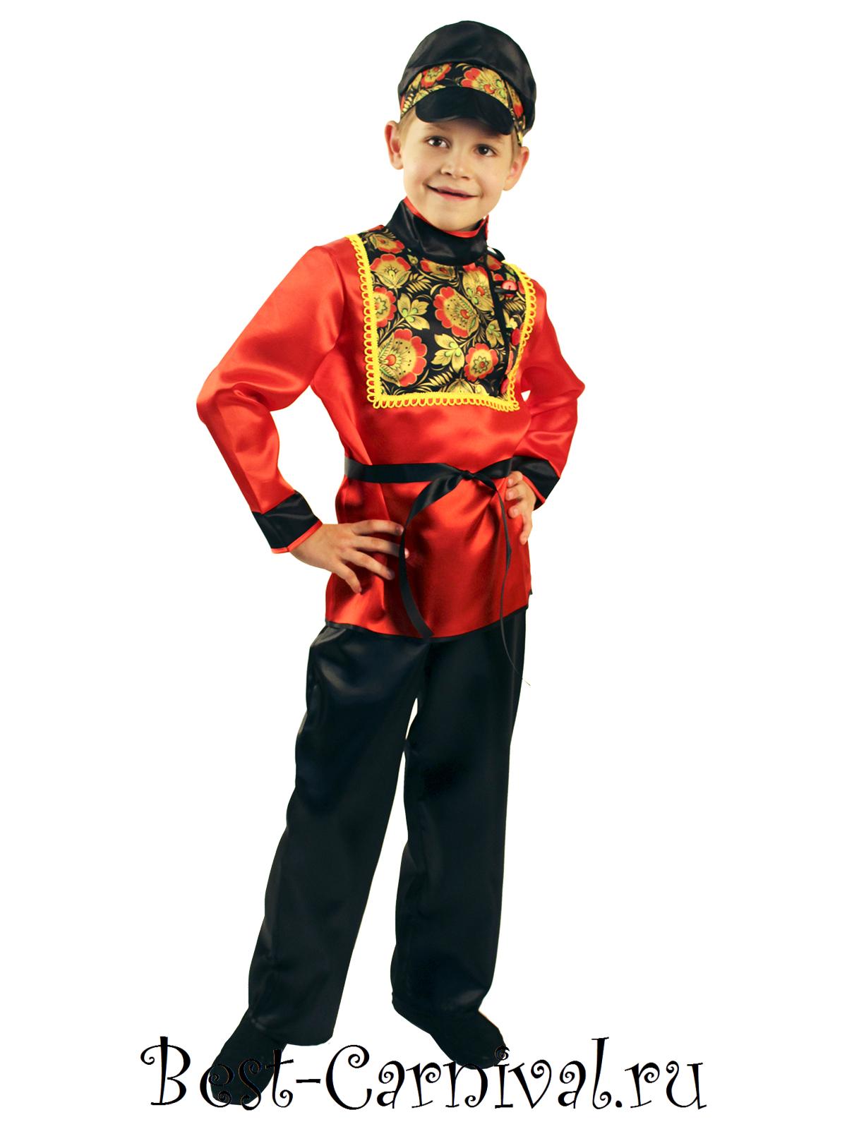 Русско-народный костюм для мальчика своими руками фото быстро и красиво