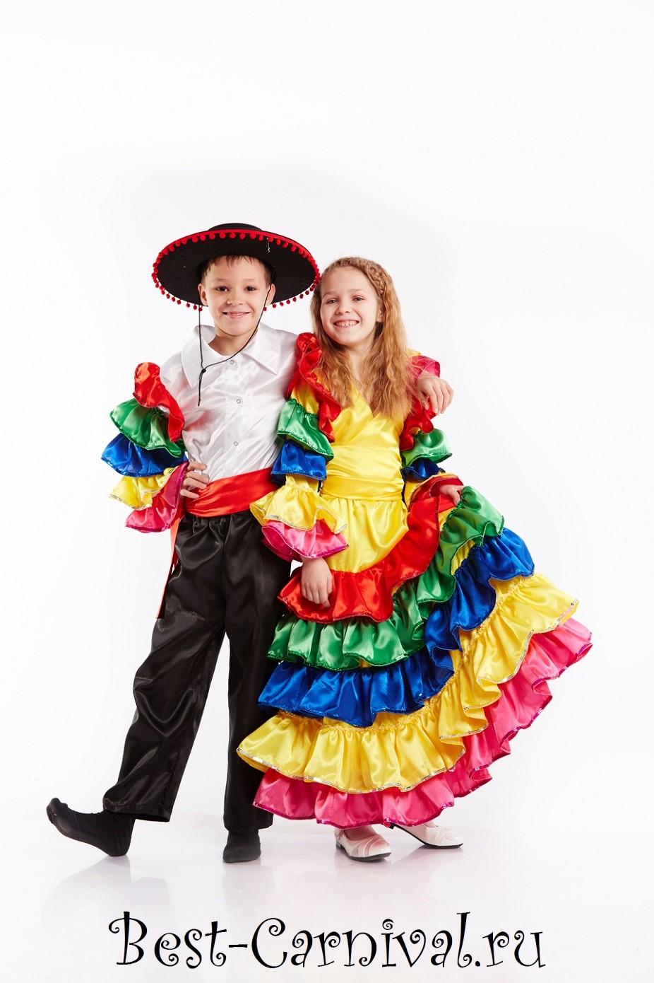 Костюм Мексиканки купить Карнавальные костюмы