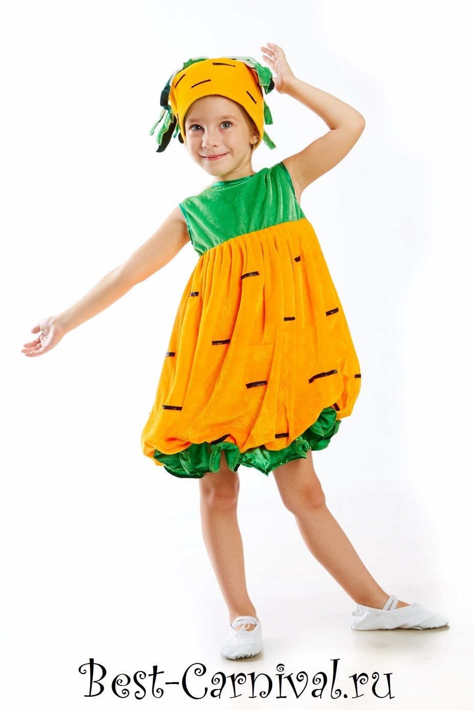 Костюм своими руками для девочки картошка