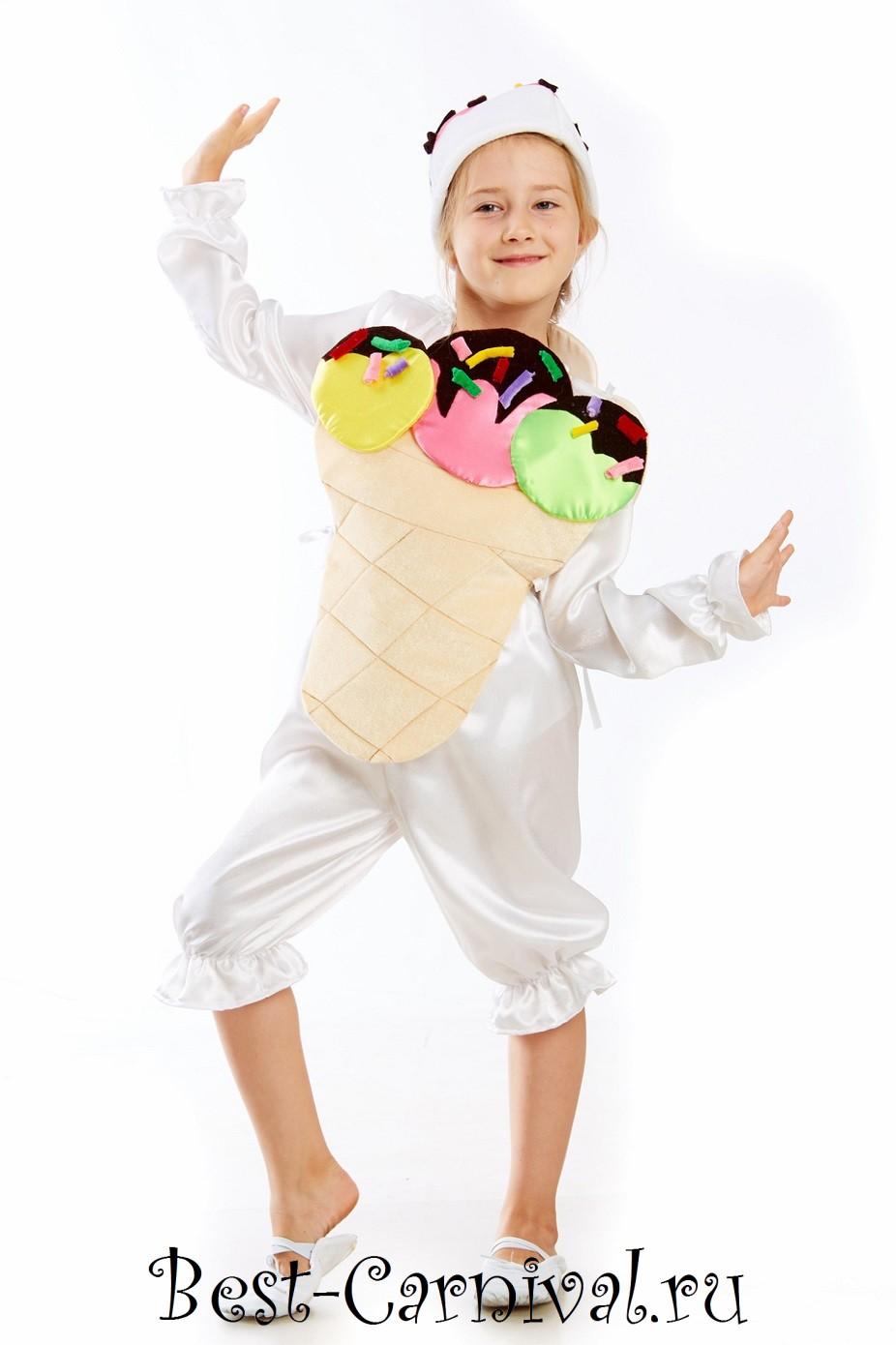 Костюм мороженое своими руками