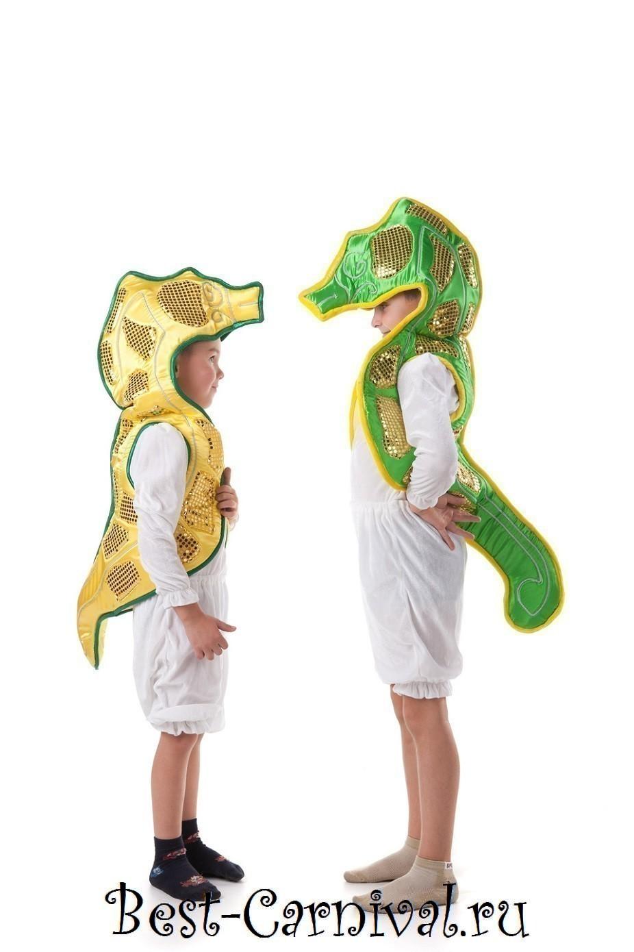 Как сделать костюм морской конек