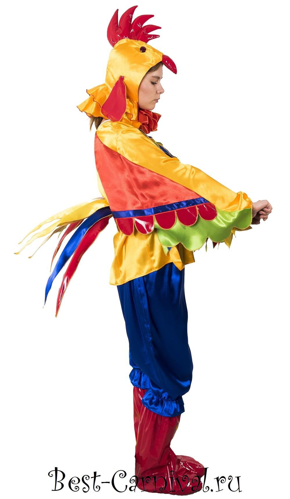 Как сделать детский костюм петуха
