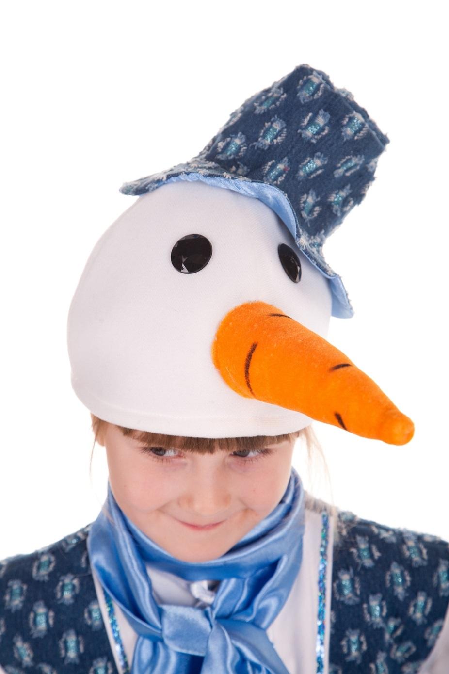 Как сделать шапки для снеговика