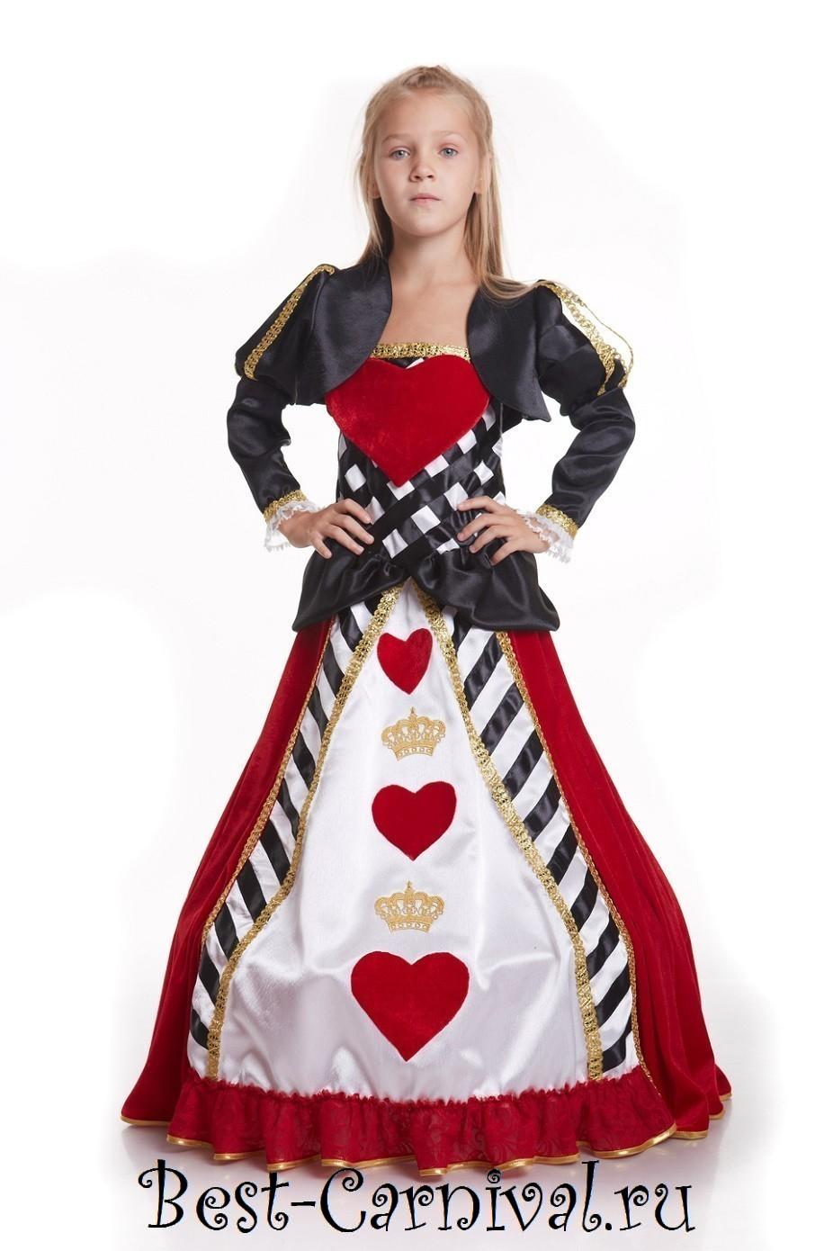 Костюм Карточной Королевы купить| Карнавальные костюмы - photo#14