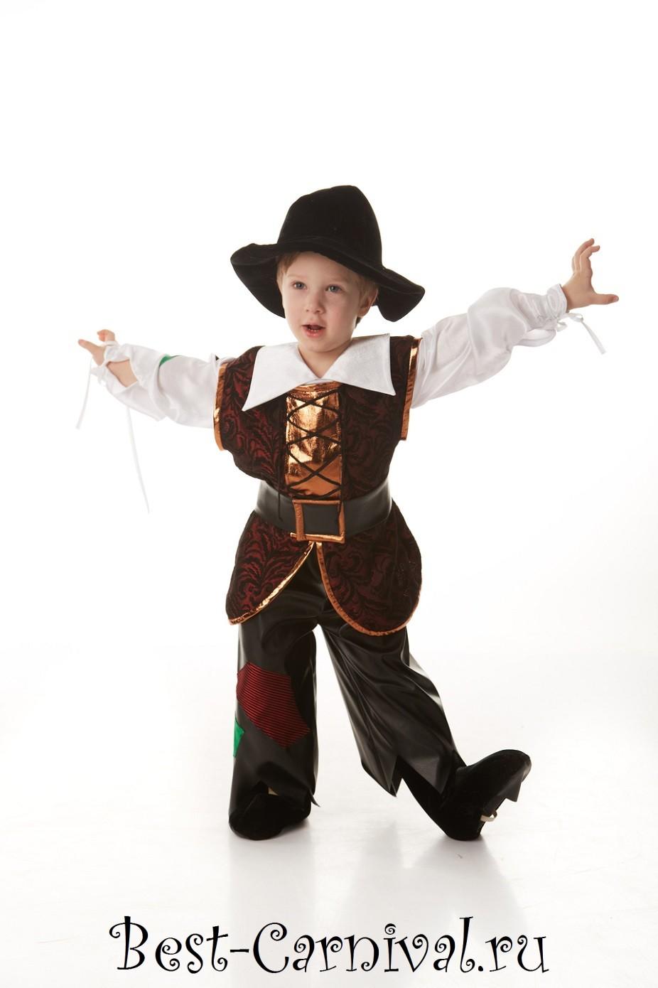 Костюм пирата для мальчика своими на новый год